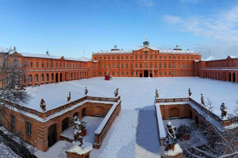 Schloss Rastatt_Winter